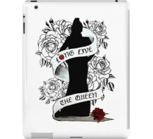 Long Live The (Evil) Queen iPad Case/Skin