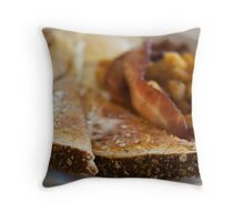 All Day Breakfast Throw Pillow