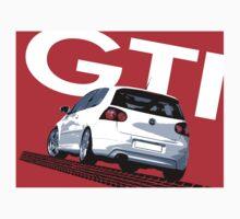 VW Golf 5 GTI Tiremark Baby Tee
