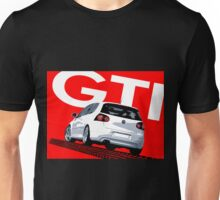 VW Golf 5 GTI Tiremark Unisex T-Shirt