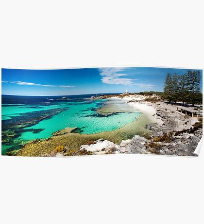 The Basin, Rottnest Island Poster
