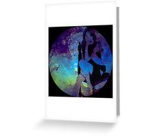 Galaxy Sooyoung Greeting Card