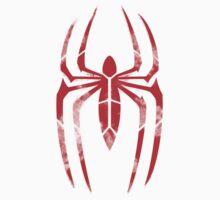 Spider-Man Segmented Logo (Red on Black) Kids Clothes