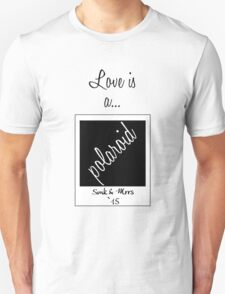 Love is a Polaroid T-Shirt