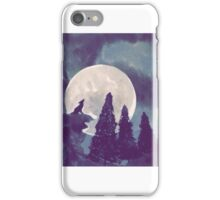 Night Time Wolf iPhone Case/Skin