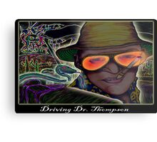 Driving Dr. Thompson Metal Print
