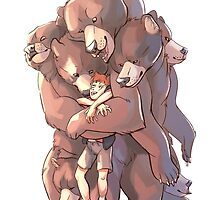 Multi-bear Hugs by Junryou