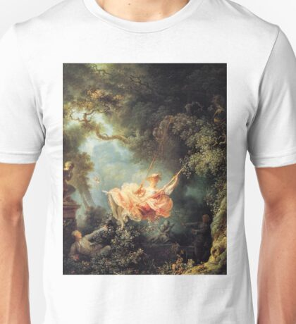 The Swing - Jean-Honoré Fragonard Unisex T-Shirt