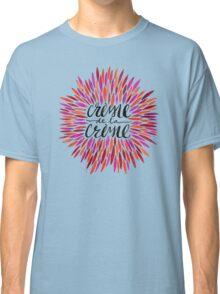 Crème de la Crème – Pink Palette Classic T-Shirt