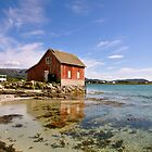 Boathouse, Hillesøya by itchingink