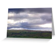 Across the Dale Greeting Card