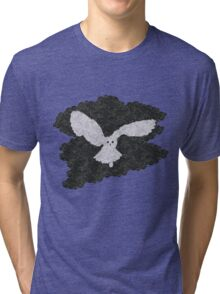 Owl in the night Tri-blend T-Shirt