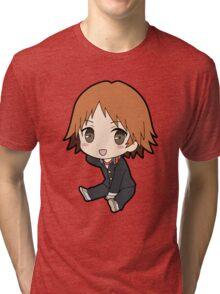 Yosuke Hanamura Chibi Tri-blend T-Shirt