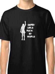 Derby Girls Rock My World Classic T-Shirt