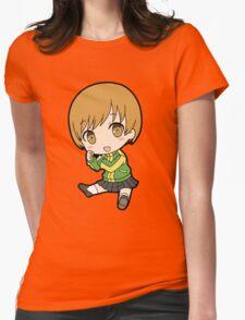 Chie Satonaka Chibi Womens Fitted T-Shirt