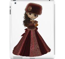 Toon Winter Princess in Red iPad Case/Skin