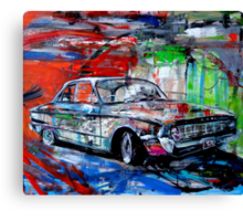 'Needs some work, and a new battery' Canvas Print