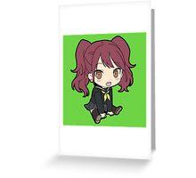 Rise Kujikawa Chibi Greeting Card