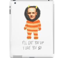 """""""Commence the Feral Bedlam, Agent Starling."""" iPad Case/Skin"""