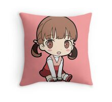 Nanako Dojima Chibi Throw Pillow