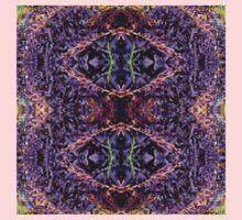 Purple Heart Spiderwort - In the Mirror Kids Clothes