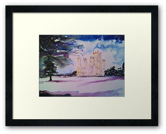 'Downton Abbey, Winter' by Martin Williamson (©cobbybrook)