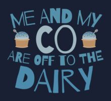 Me and my co are off to the dairy funny New Zealand kiwi saying Kids Tee