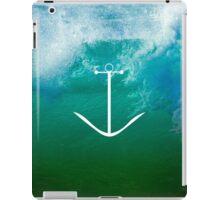 Blue, green ocean iPad Case/Skin