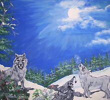 calling the pack by sherrie johnson