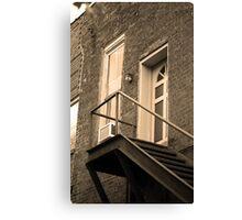 Jonesborough, Tennessee - Upstairs Neighbors Canvas Print