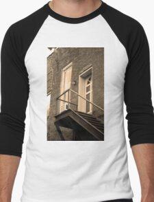 Jonesborough, Tennessee - Upstairs Neighbors Men's Baseball ¾ T-Shirt