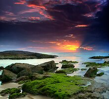 Anna Bay Sunset by Bill Atherton