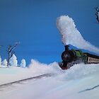 Winter Train by Andrew Howard