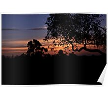 Nannup Sunset Poster