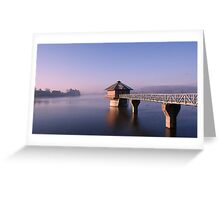 Cropston Resevoir Greeting Card