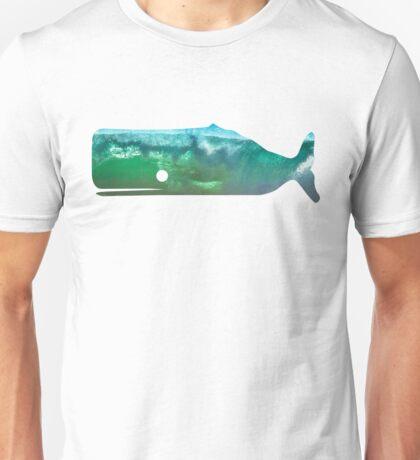 Sperm Whale wave Unisex T-Shirt