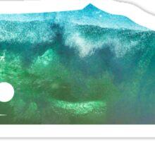 Sperm Whale wave Sticker