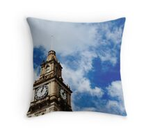 Melbourne Post Office Throw Pillow