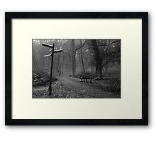 JUNCTION Framed Print