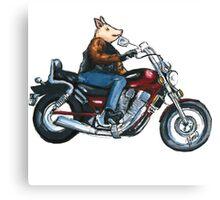 Pa's Hog Canvas Print