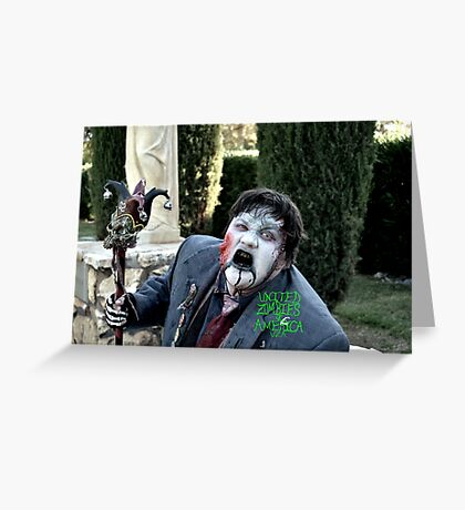 UZA Synyster Syd Graveyard  Greeting Card