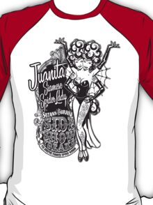 Side Show Freaks - Juanita Siamese Spider Lady T-Shirt