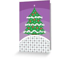 Christmas Tree Christmas Card Greeting Card