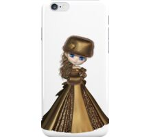 Toon Winter Princess in Gold iPhone Case/Skin