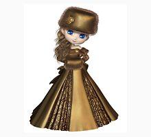 Toon Winter Princess in Gold Unisex T-Shirt