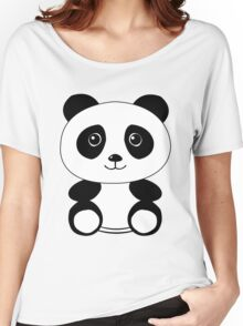 The Panda Women's Relaxed Fit T-Shirt
