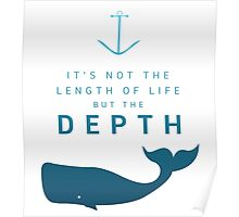 Depth of life Poster