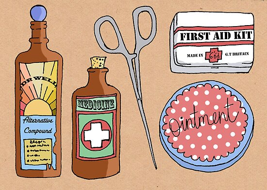 Medical Items by Samantha Mabley