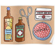 Medical Items Poster