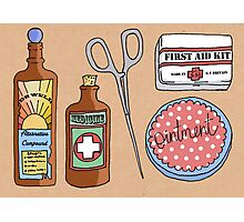 Medical Items Photographic Print